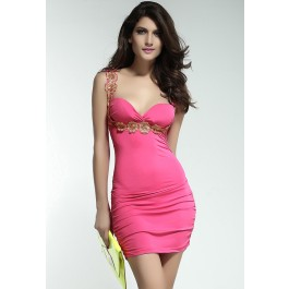 captivating-flower-applique-stretch-bodycon-dress-roseo-lc2908-1-10013