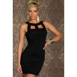chest-hollow-out-crew-neck-fashion-ol-dress-black-lc2804-2-1