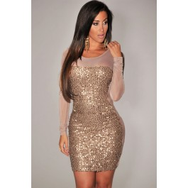 gold-all-over-sequined-sheer-long-sleeves-bodycon-club-dress-lc2999-2-12712