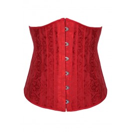 plus-size-red-jacquard-underbust-corset-with-24-steel-bones-lc5362-3p