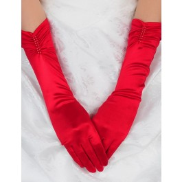red-elbow-length-pearl-satin-gloves-lc7092-3