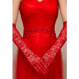 red-stretch-lace-opera-length-gloves-lc73113-3