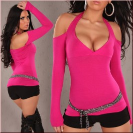 sexy-neck-holder-long-sleeve-shirt-nine-red-lc25052-2-2