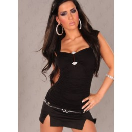 sexy-winners-top-with-rhinestone-buckle-in-optic-black-lc25066-2