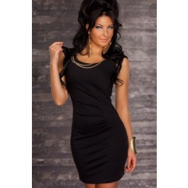 solid-black-bodycon-dress-lc2864-2