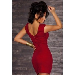 solid-red-bodycon-dress-lc2864-3-1