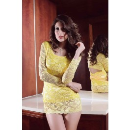 yellow-lace-pierced-bodydoll-lc2257-1-2
